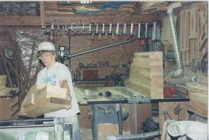 Dave in Shop 1994